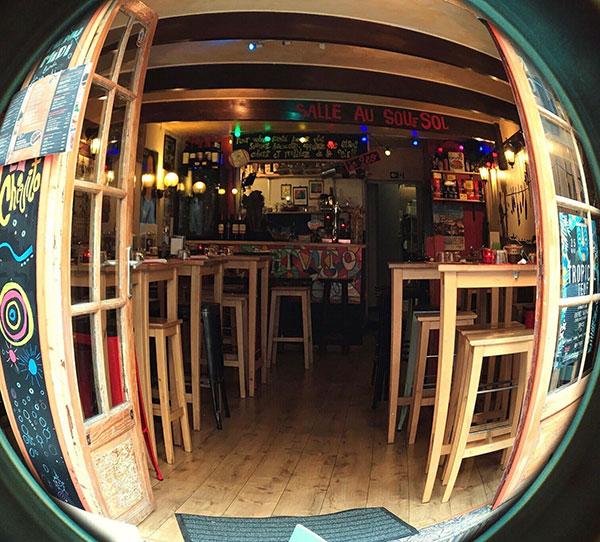 El Chivito, intérieur restaurant